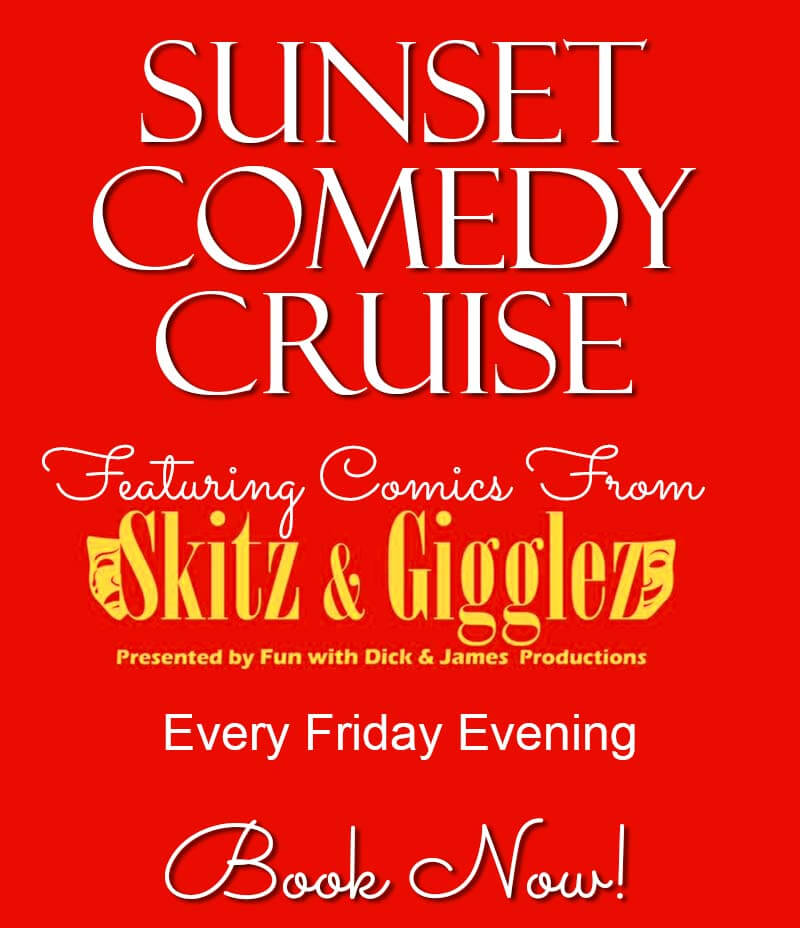 Comedy Cruises on Friday Nights!