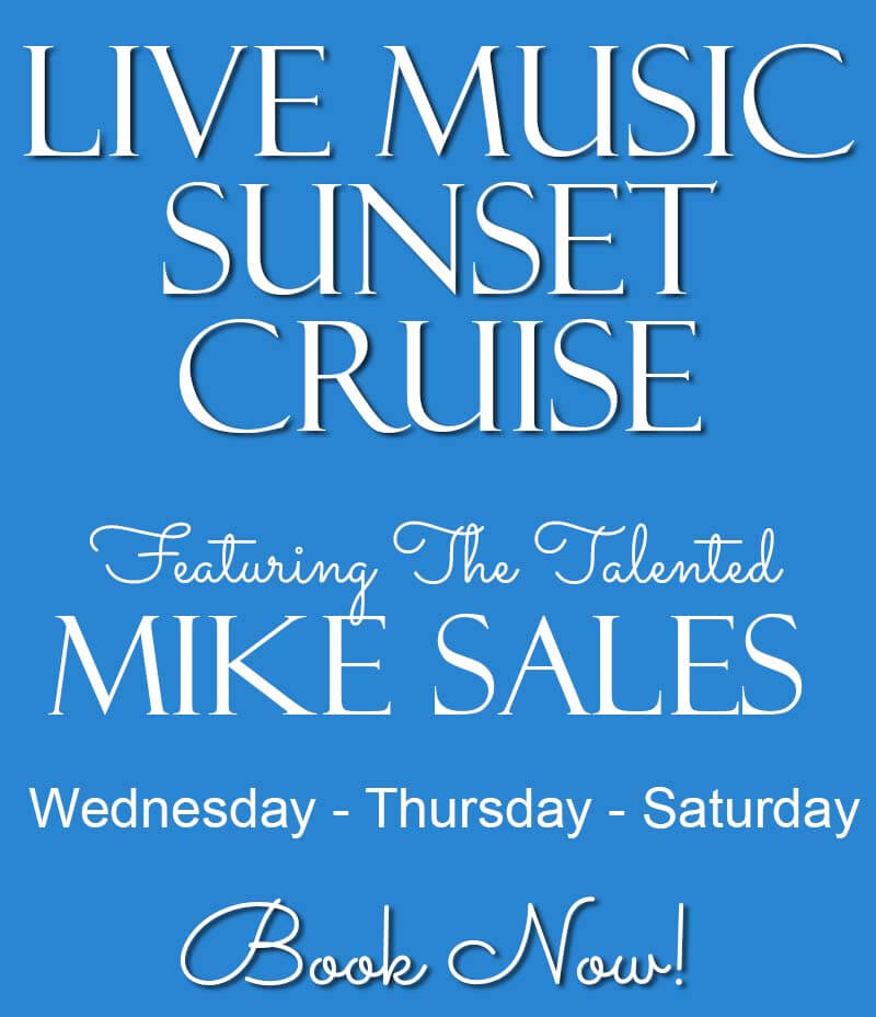 Live Music Cruises  on Wed-Thu-Sat